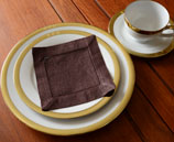 cocktail napkin, brown cocktail napkins, napkin, 6x6 in. napkins.