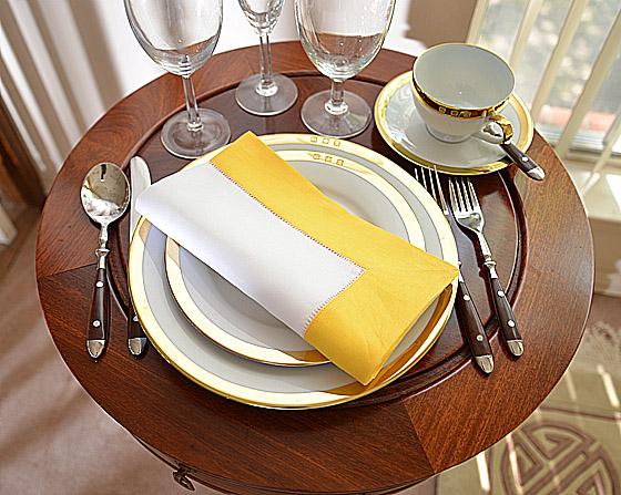 dinner napkins, napkin with color, hemstitch napkins, dinner napkins, napkins